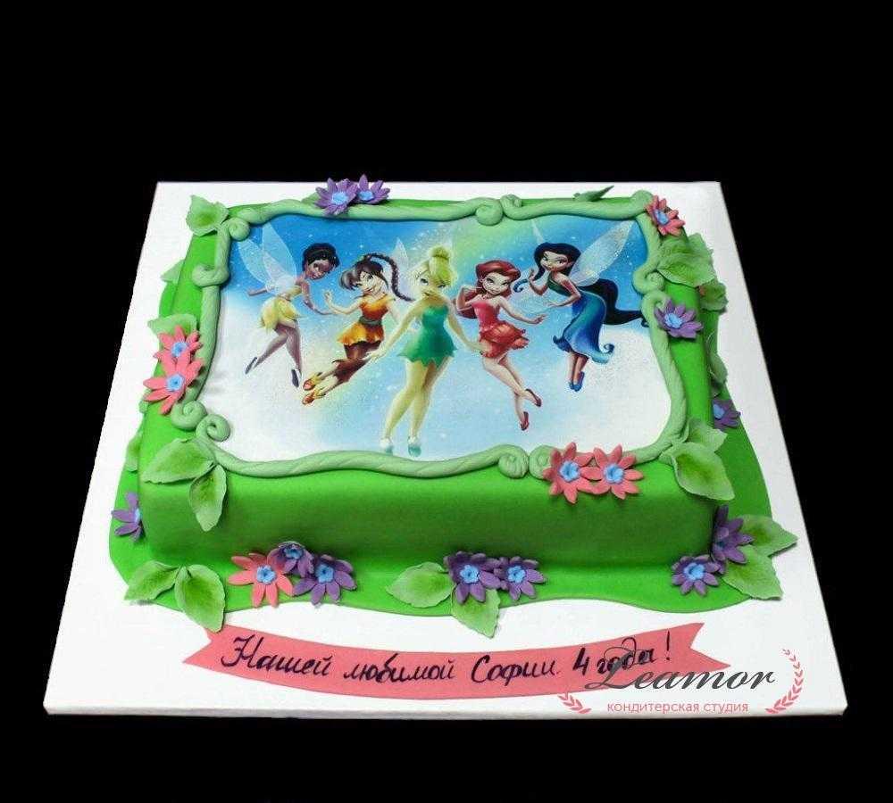 Торт с фотографией №4