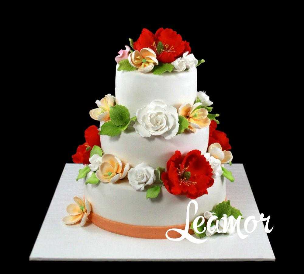 Свадебный торт в Украинском стиле