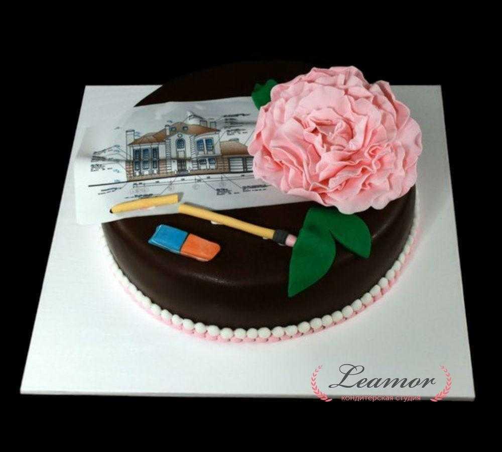 Торт для архитектора