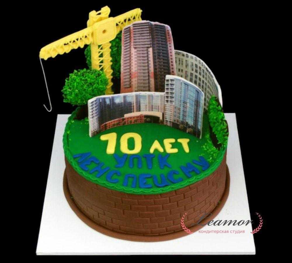 Торт для строительной фирмы