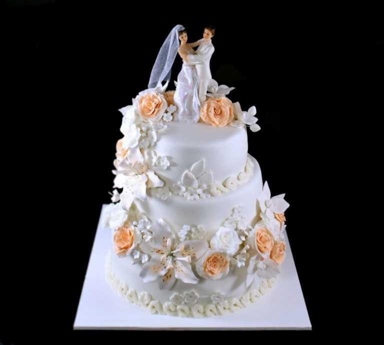 Свадебный торт в ритме танца