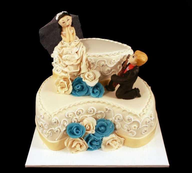 Свадебный торт Серенада