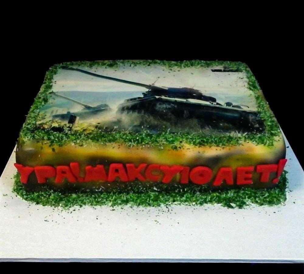 Торт с фотографией №2