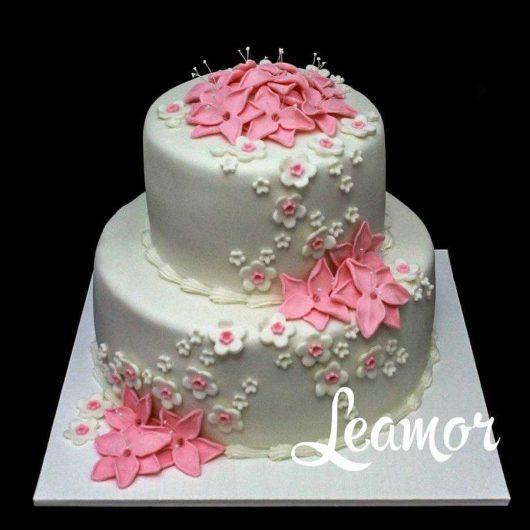 Маленький свадебный торт