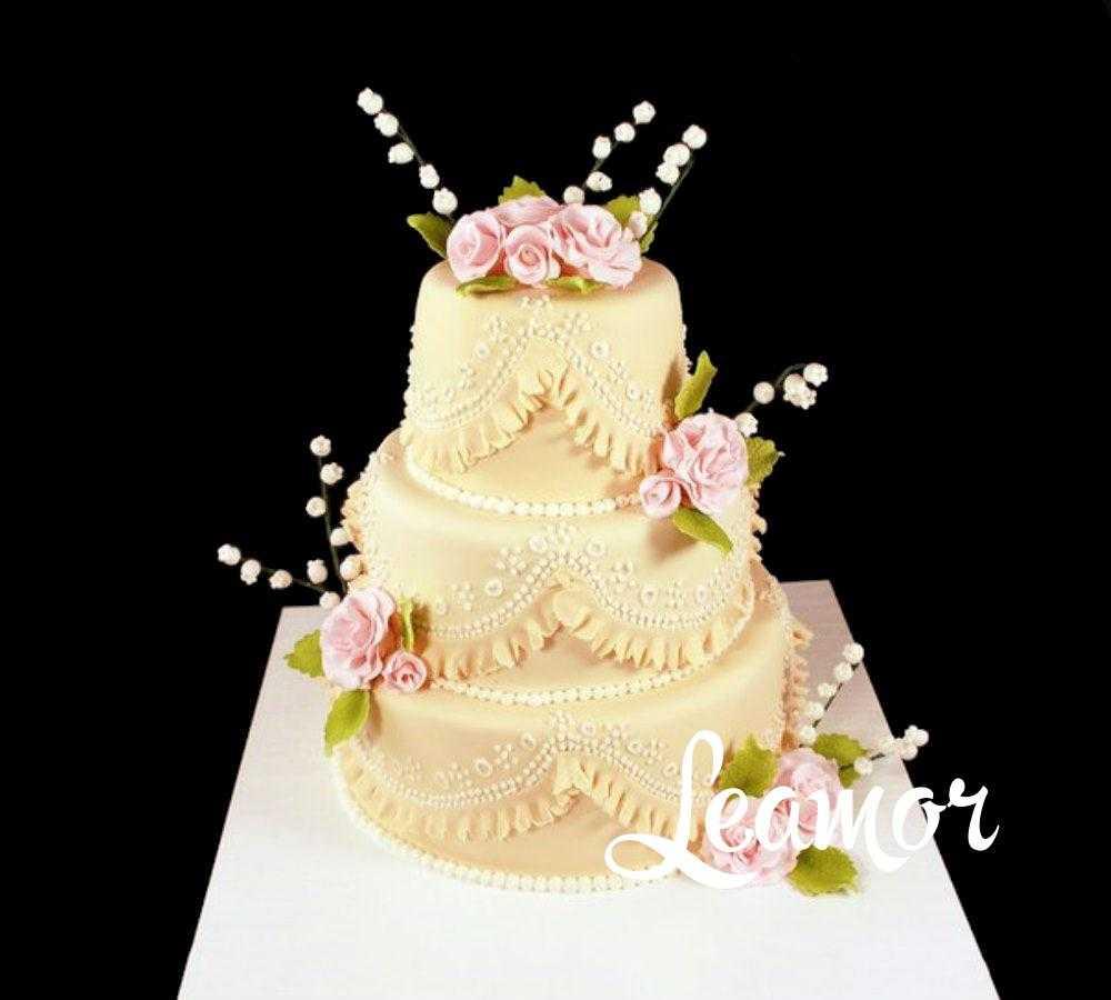 Свадебный торт с Ландышами