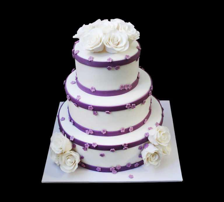 Свадебный торт Белоснежное очарование
