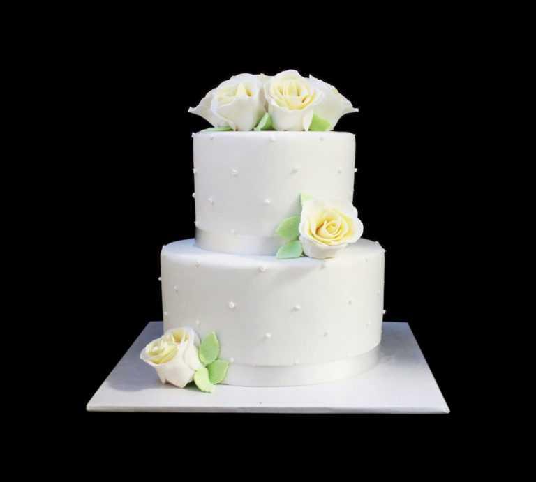 Свадебный торт Белый танец