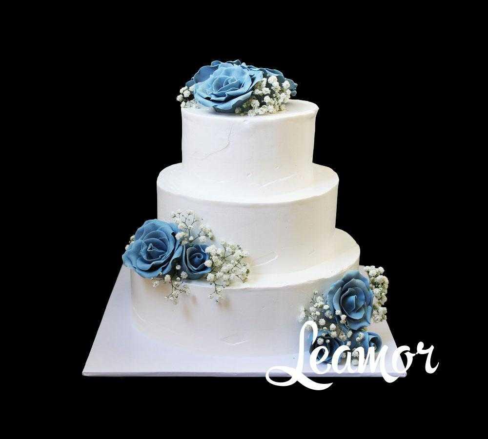 Свадебный торт Леди в белом