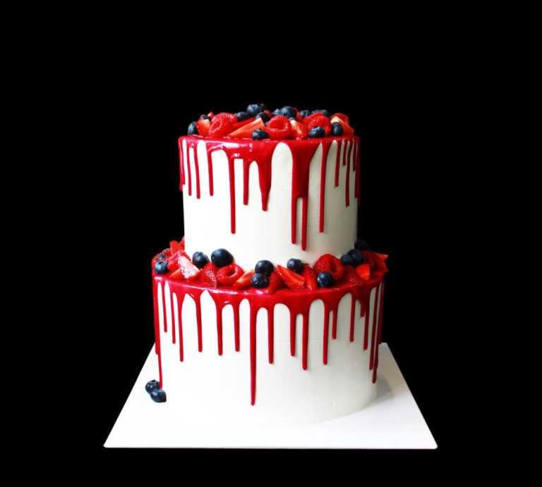 Свадебный торт Разбитое сердце