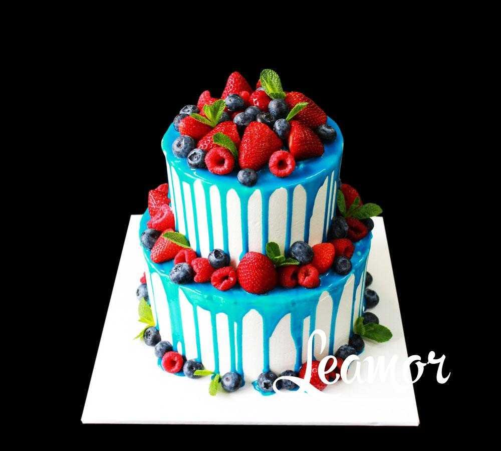 Свадебный торт Разбитое сердце русалки