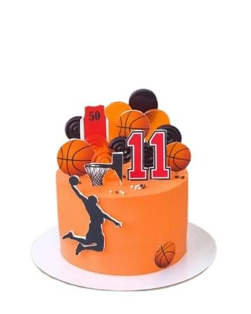 Торт Баскетболисту с мячом