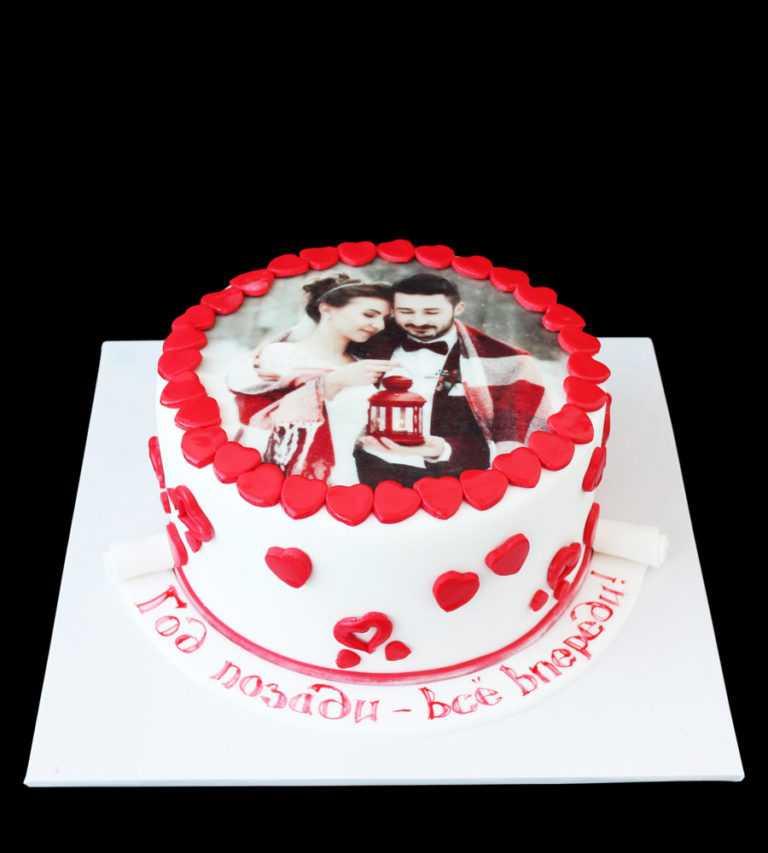 Торт на Годовшину фотопечать